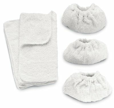 For KARCHER Steam Cleaner Hand Tools Terry Cloth Covers K1102 K1105 Cotton Pads