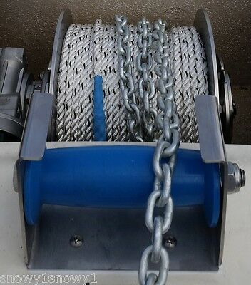 "ANCHOR WINCH DECK ROLLER AND BRACKET 150 mm 6"" MICKS WINCH"
