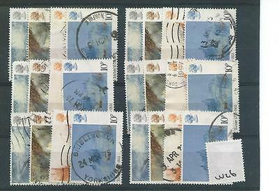 Gb - Commemoratives - 1975 - W26 - Six Sets -  Jmw Turner -  Used