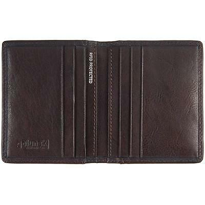 Slim Leather RFID Blocking Credit Card Holder : Fine Leather : 4 Colour Choices