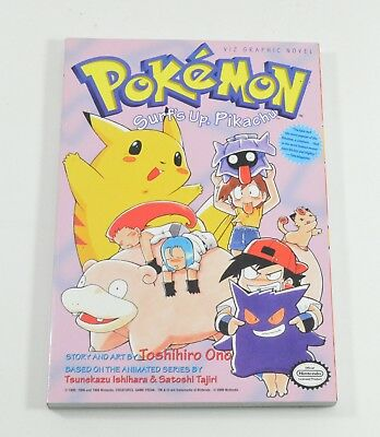 "Pokemon Graphic Novel Volume 4 ""Pokemon Surf's Up Pikachu"" Paperback Book Mint"