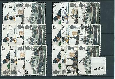 Gb - Commemoratives - 1979 - W55 - Six Sets - Metropolitan Police  - Used