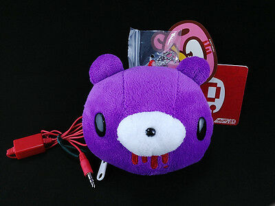 Gloomy Bear Chax-GP Chack Portable Speaker Face Plush Doll Key Chain Taito