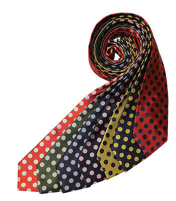 Equetech Uber Spot Show Tie in 7 Colours Adult & Junior + Worldwide Shipping