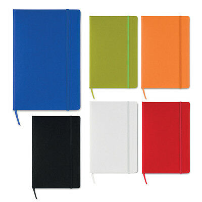 A5 Hardback Notebook Squared Pages / Graph Paper Pad Journal Hard Back Notepad