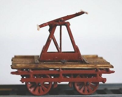 O SCALE On3/On30 WISEMAN MODEL SERVICES DP-13 DENVER HAND CAR KIT