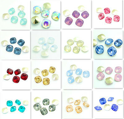 Wholesale 30PCS  Rounded Square Resin rhinestones beads 10mm DIY HOT