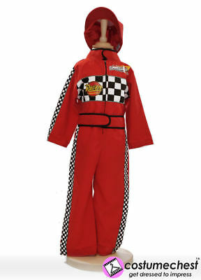 Childrens Girls Boys 5-7 years F1 Racing Driver Costume by Pretend To Bee