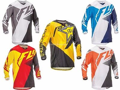 Fly Racing Kinetic Vector Jersey Motocross Off-Road Dirt Bike Riding MX/ATV/MTB