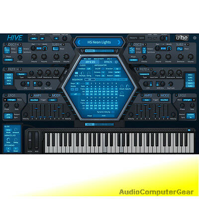 u-he HIVE Virtual Supersaw Synthesizer Software Synth Plug-in NEW MAKE OFFER