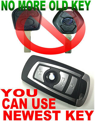 """Smart Key Style Remote For Bmw """"virgin"""" Chip Never Been Coded Transponder Fob E6"""