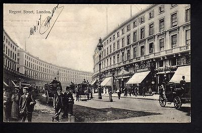 LONDON londres England REGENT STREET old CPA 1907