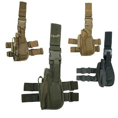 Viper Left Handed Tactical Drop Leg Holster Airsoft Pistol Army