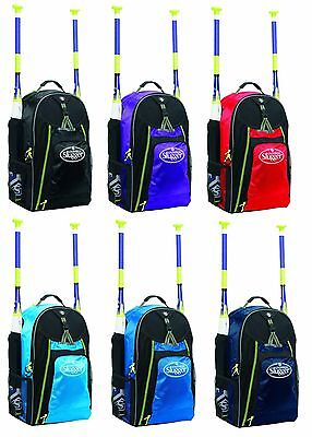 Louisville Slugger Xeno Stick Pack Batpack Backpack Equipment Bag EBXNSP6