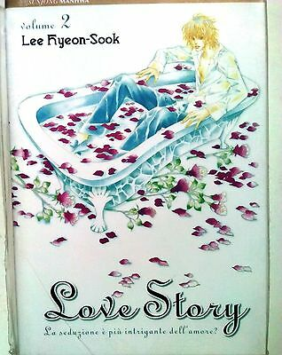 Love Story n. 2 di Lee Hyeon-Sook  * SCONTO 50% NUOVO * ed. J Pop