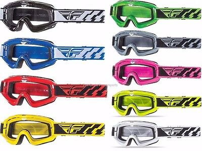 Fly Racing Focus Goggles Motorcycle Racing Dirt Bike MX ATV Adult & Youth '16-17