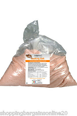 100% Pure with 84 Minerals .. 20 kg Fine Himalayan Rock Salt