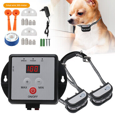 1/2 Pet Dogs In-Underground Electronic Wireless Remote Fence Containment System