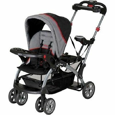 Double Stroller Carrier Baby Infant Car Seat Stand Toddler Lightweight Carriage