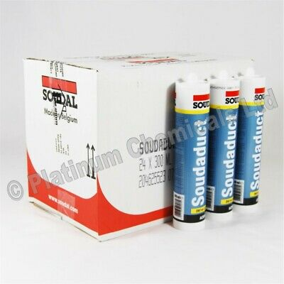 Soudal SOUDADUCT | HVAC Duct Sealant For Galvanised & Stainless Steel Ducting