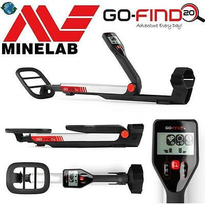 MINELAB METAL DETECTOR GO FIND 20 new 2015 METAL DETECTOR GOLD COINS