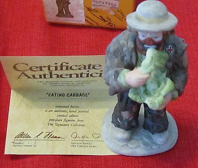 Emmett Kelly Miniature Collection Set of 10