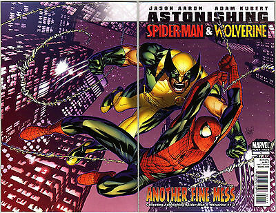 """Astonishing Spider-Man & Wolverine Marvel """"must have"""" 1 (collects # 1 2 3) 2011"""