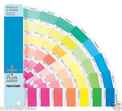 Pantone Plus Series Pastel and Neons Guide GG1504 *All 210 colors +VAT*