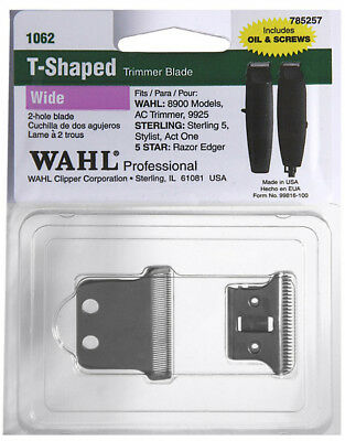 Wahl Replacement Blade Set For Detailer & Stylist T Hair Trimmer WA1062