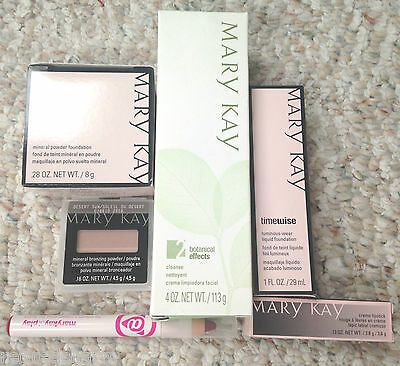 ❤️wholesale Mary Kay Makeup Lot Going Out Of Business Bundle Sale Retail $110❤️