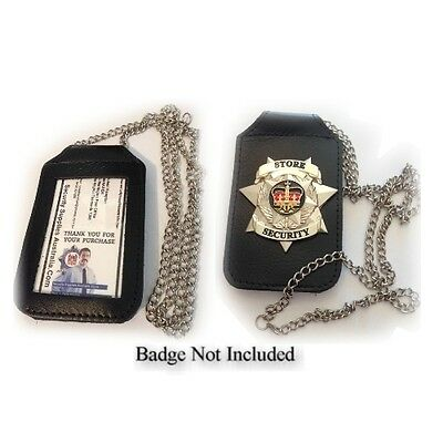 Belt / Neck ID and Badge Holder - ENFORCER - NEW - Badge Not Included