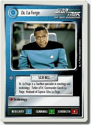 Star Trek CCG First Contact Geordi La Forge NrMint-Mint