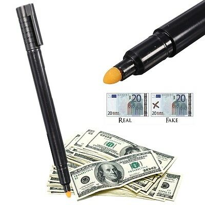 Counterfeit Dummy Money Banknotes Checker Tester Marker Currency Detector Pen