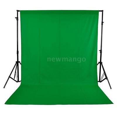 1.6 x 3M/5 x 10FT Photography Studio Non-woven Background Backdrops Screen Green