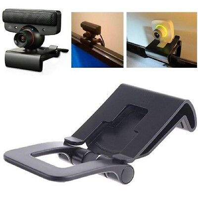 New TV Clip Mount Holder Stand For PlayStation 3 PS3 XBOX 360 Move Eye Camera