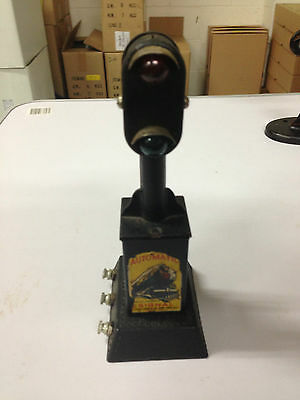 Tinplate Train Signal (Labeled Automatic Signal)