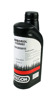 Brand New | Oregon Bio Chainsaw Oil | Arborol Plus | 1L P/n: 104935