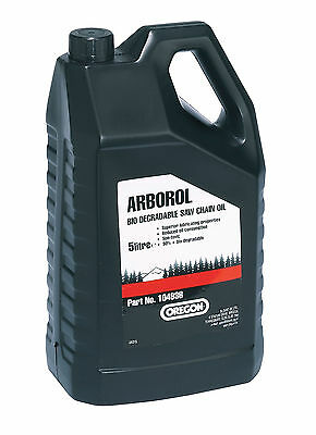 Brand New | 5L Oregon Bio Chainsaw Oil | Arborol Plus | P/n: 104936