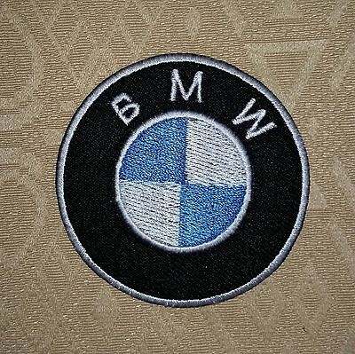 BMW Car Motorcycle Biker Jacket Motif Iron-on Embroidered Patch/ Badge/ Logo