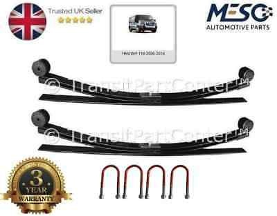 A Pair Of 3 Leaf Spring & 4 U Bolts For Ford Transit Mk7 2006-2015 Upgrade