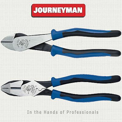 KLEIN Tools J2000-9NECR + J2000-28 Journeyman™ High-Leverage Pliers Set > NEW
