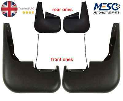 A Set Of 4 Front & Rear Mudflaps Mud Flap Ford Transit Mk6 2000-2006