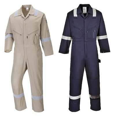 Boilersuit Overall 100% Cotton Coverall Long Sleeved Lightweight Portwest C814