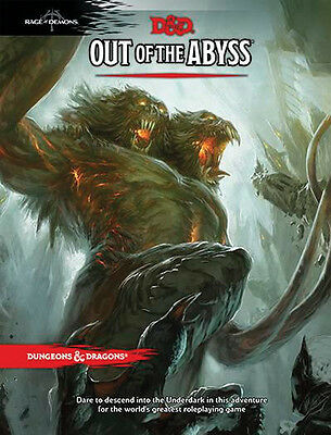 Dungeons and Dragons RPG: Out of the Abyss WOC B24390000