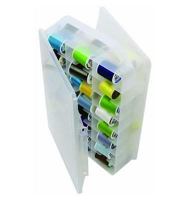 NEW Creative Options Brand Thread Organizer, Double-sided Storage - Clear Design