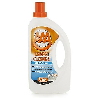 Vax 1 Liter Aaa Standard Con Cleaner For Use With Vax Carpet Washing Machines
