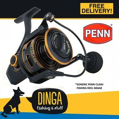 Penn Clash CLA6000 Spinning Fishing Reel