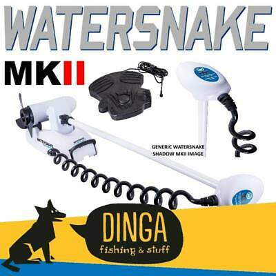 "Watersnake Shadow MKII 44lb 48"" Shaft Bow Mount Electric Motor"