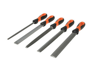 Bahco - File Set 5 Piece 1-477-08-2-2 200mm (8in)