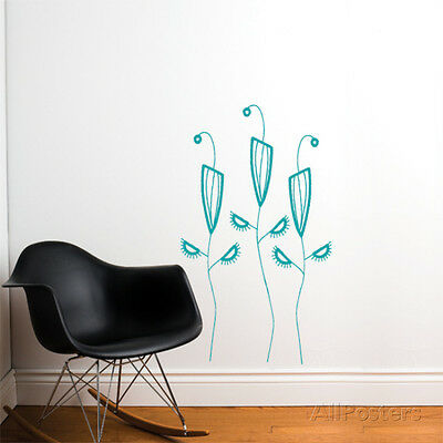 Cactus Flowers Wall Decal Sticker - 53x31